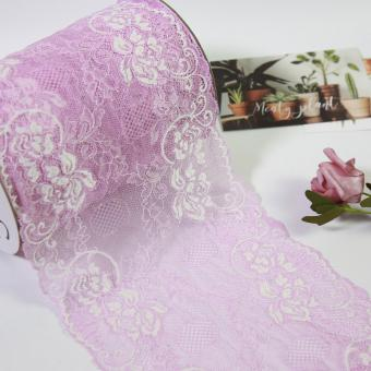 underwear material lace trim