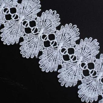 lace material embroidery for bridal wedding