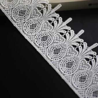 cotton embroideried lace for dress
