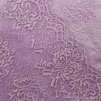 purple eyelash lace for lingerie